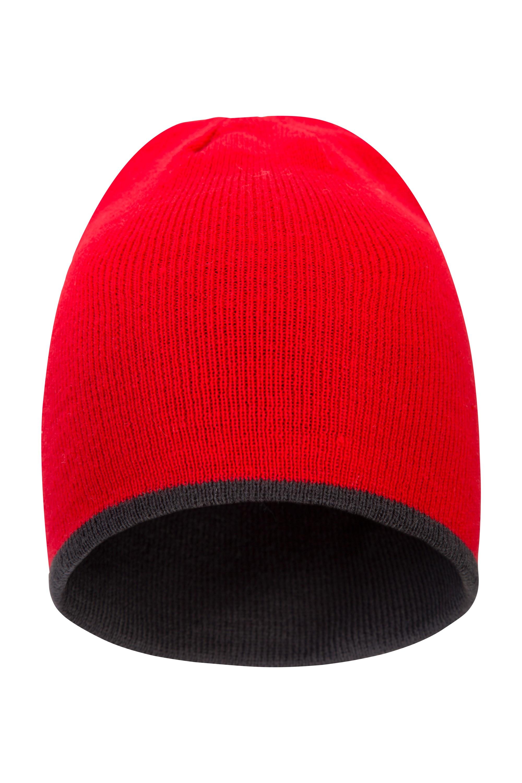 St Anton Mens Beanie - Red