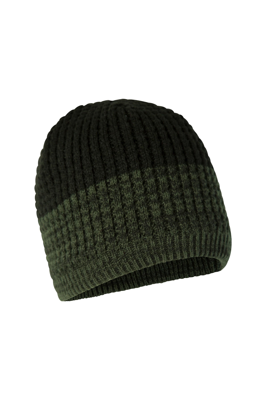 Mountain Warehouse Retreat II Mens Beanie Warm Winter Hat Cap