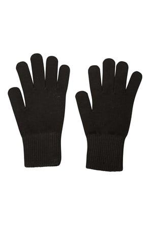 Everyday Knitted Mens Gloves