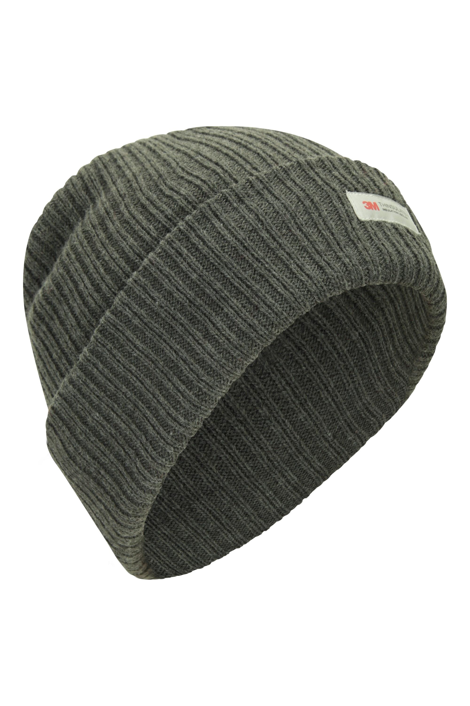 Bonnet Tricoté hommes Thinsulate - Gris