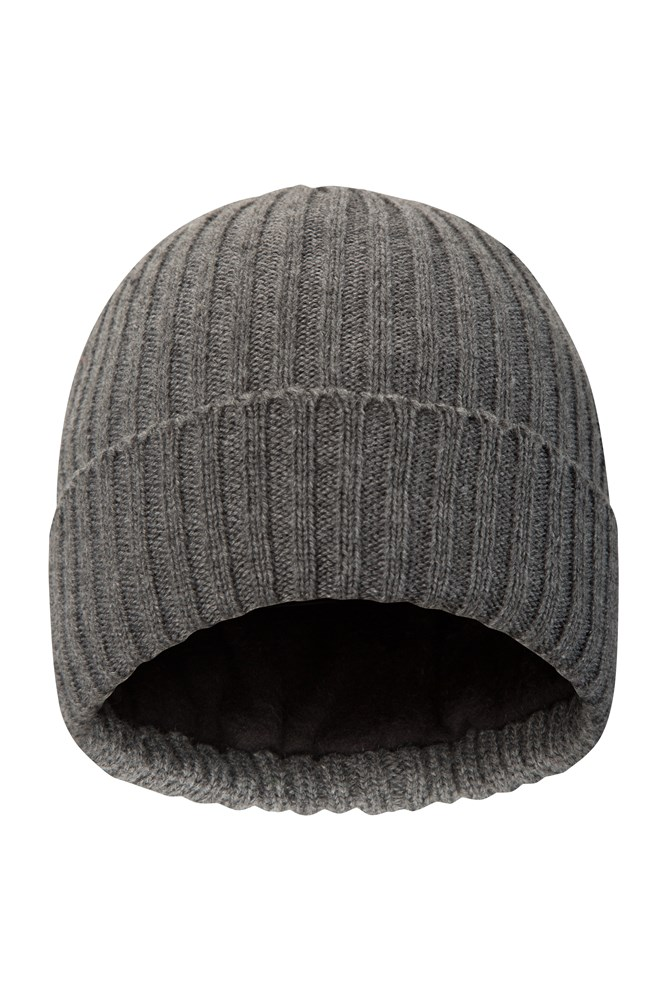 bc8472325c477 Thinsulate Knitted Mens Beanie