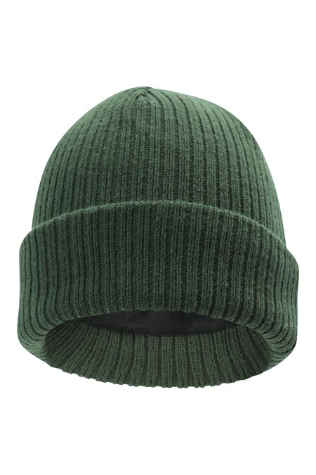 025620 THINSULATE KNITTED RIBBED BEANIE