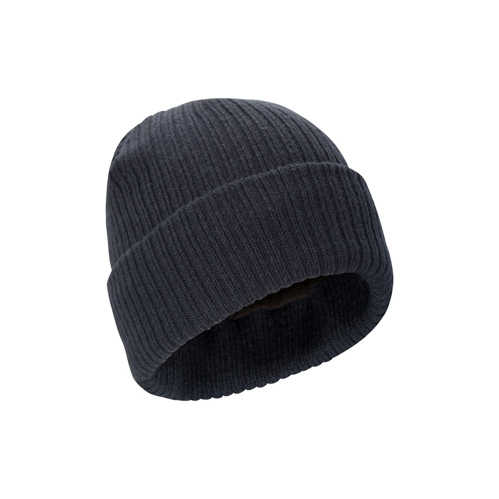 Mountain Warehouse Comfort Thinsulate Beanie w// Knitted Effect and Double Lined