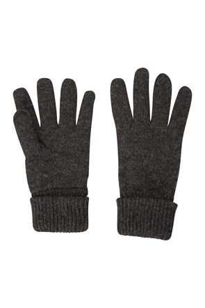 Thinsulate Knitted Mens Wool Gloves