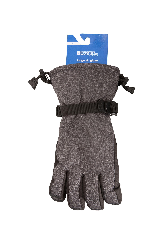 Lodge Mens Ski Gloves - Grey
