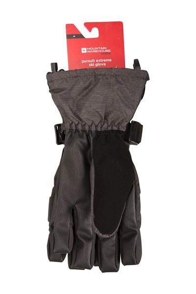 Pursuit Extreme Mens Ski Gloves - Black