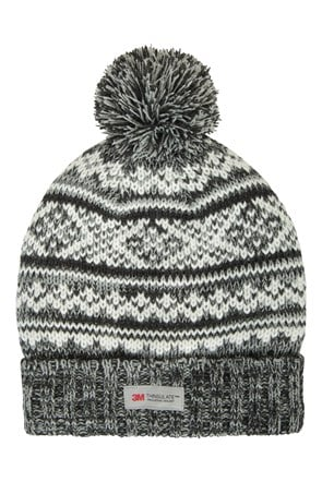 Bonnet hommes Thinsulate Fairisle