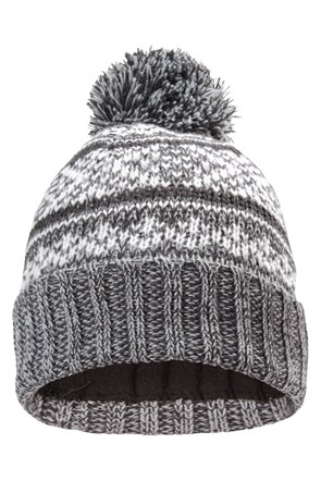 Thinsulate Fairisle Mens Beanie