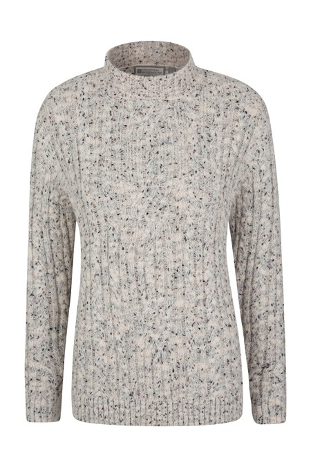 025634 ASPEN WOMENS CABLE KNIT TOP