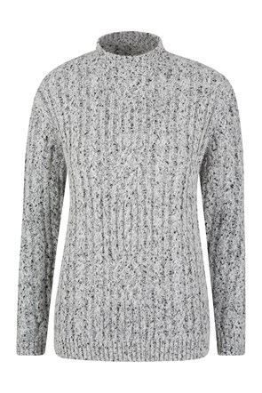 Aspen Womens Cable Knit Top