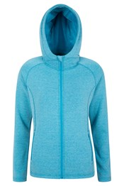 Islay Full Zip Hooded Womens Fleece