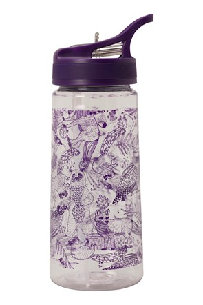 BPA Free Woodland Animals Flip Top Bottle - 500ml