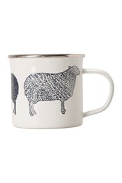 Enamel Mug - Black Sheep