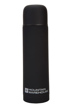 Double Walled Rubber Finish Flask - 500ml