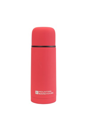 Double Walled Rubber Finish Flask - 350ml