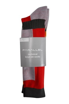Parallel Technical Kids Ski Sock 4 Pack