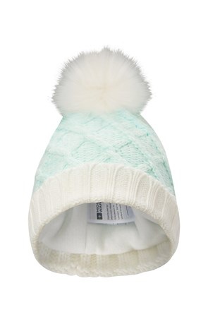 75aba11cb1c Thinsulate Womens Pom Pom Beanie