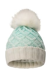 Thinsulate Womens Pom Pom Beanie