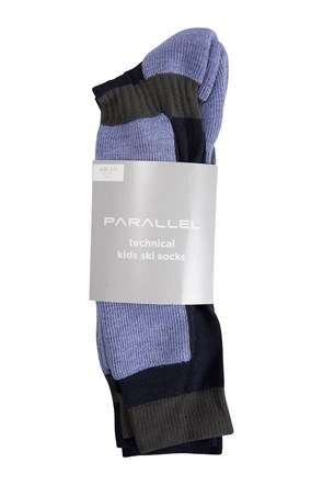 Parallel Technical Kids Ski Socks - 2Pk