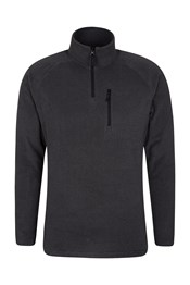 Clyde Striped Mens Half-Zip Fleece