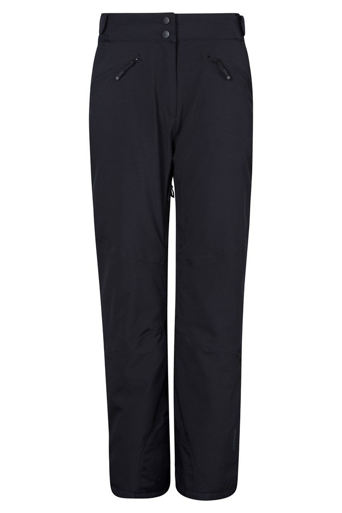 Isola Womens Extreme Ski Pants - Short Length - Black