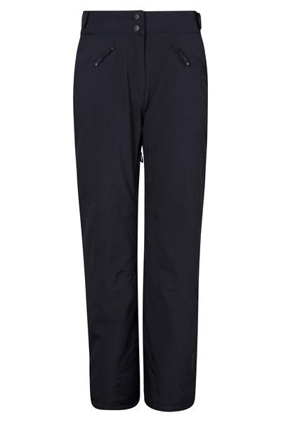 Isola Womens Extreme Ski Pants - Short Length - Black
