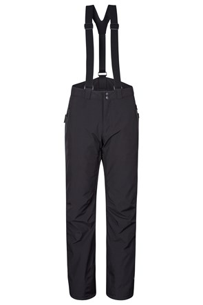Orbit Mens 4-Way-Stretch Ski Pants - Short Length