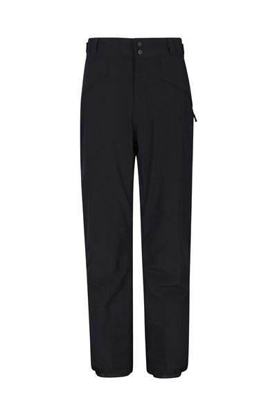 Orbit Mens 4-Way-Stretch Ski Pants - Short Length - Grey