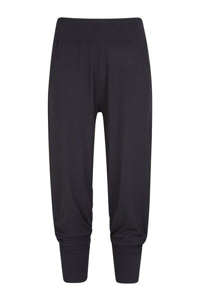 Womens Meditate Capri Pants - Black