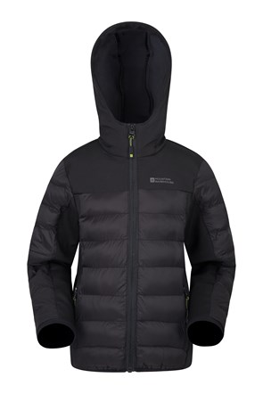 Turbine Kinder-Steppjacke
