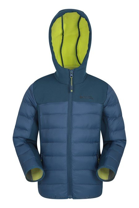 025734 TURBINE KIDS WATER RESISTANT PADDED JACKET