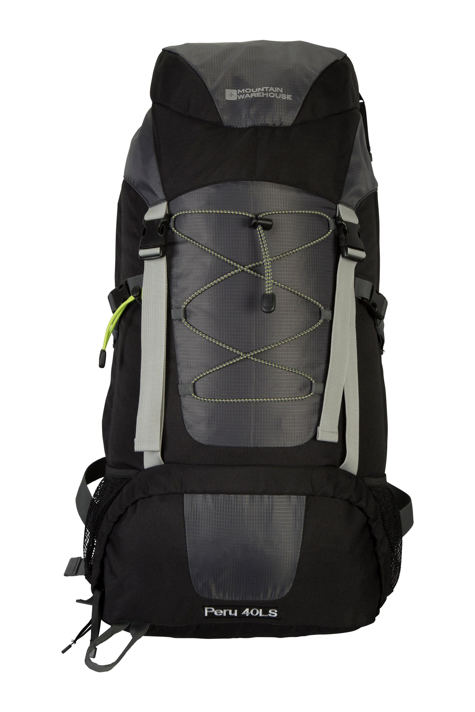 Peru Backpack - 40 Litres - Black