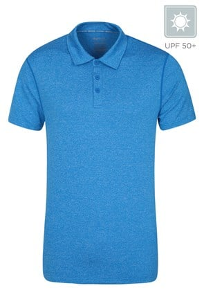 Zakti Mens Agra Stripe Polo