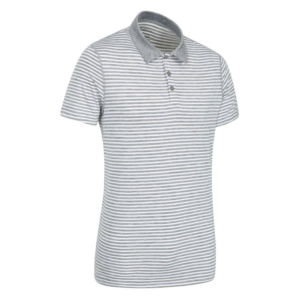 1000 Images About June 12 Polo Windsor On Pinterest: Mountain Warehouse Carve Stripe Polo Lightweight With