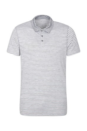 Zakti Mens Carve Stripe Polo