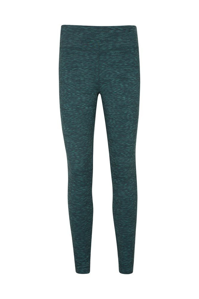 Bend and Stretch Womens Leggings - Green