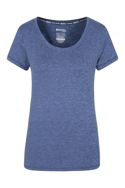 IsoCool Dynamic Panna Womens T-Shirt - Blue