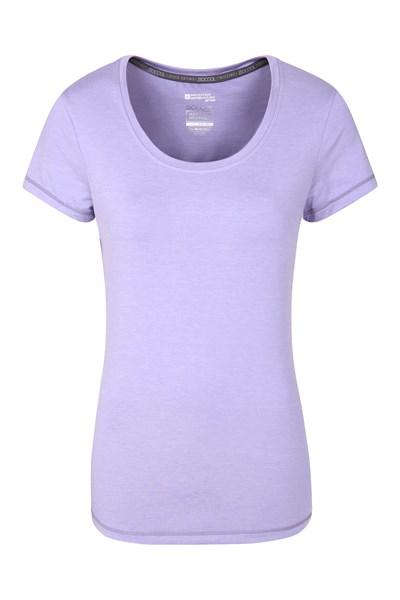IsoCool Dynamic Panna Womens T-Shirt - Light Purple