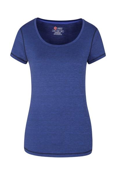 IsoCool Dynamic Panna Womens T-Shirt - Navy