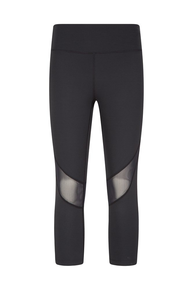 Reveal III Womens Capri Leggings - Black