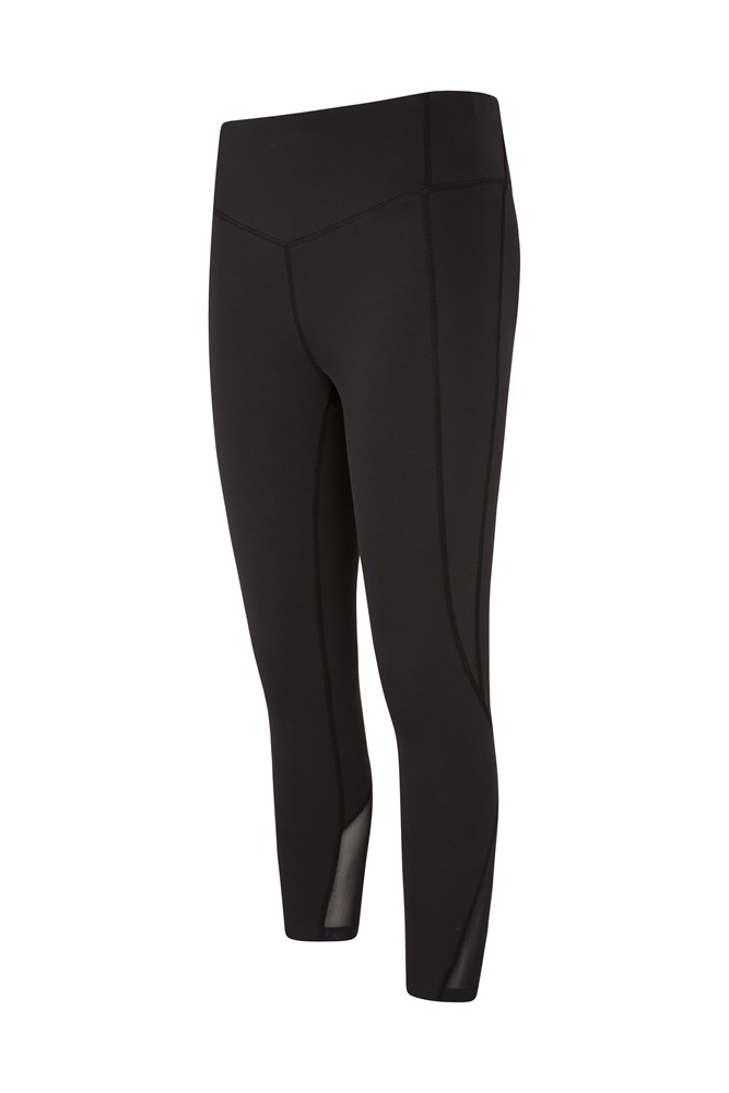 Take Control Womens Slimming 7/8 Leggings - Black