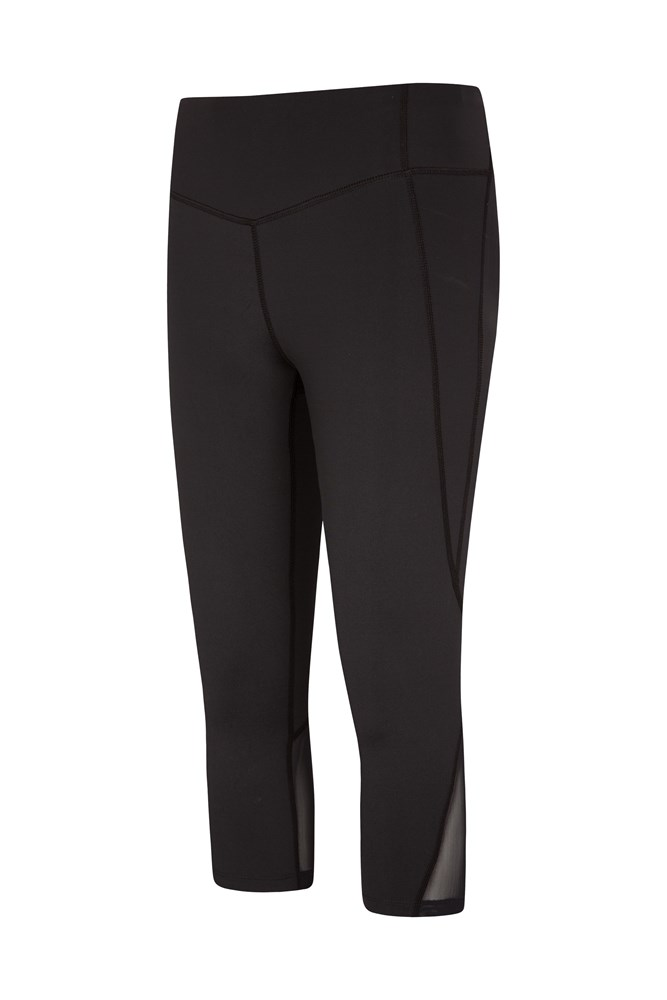 Take Control Womens Slimming Capri Leggings - Black