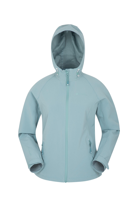 Tech Womens Softshell Jacket - Green