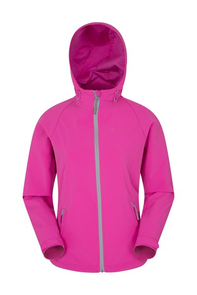 Tech Womens Softshell Jacket - Pink