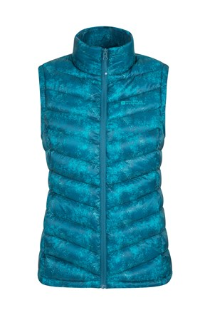 Seasons Womens Printed Gilet