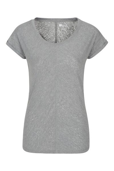 Retreat Slouch Womens T-Shirt - Grey