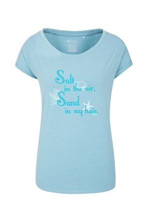 Sand In Your Hair Womens Tee