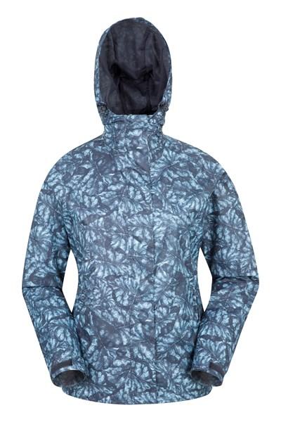 Torrent Womens Printed Waterproof Jacket - Black