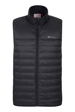 Mens Featherweight Down Padded Gilet