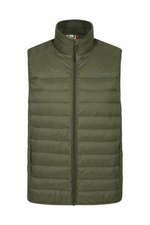 Mens Featherweight Down Insulated Vest
